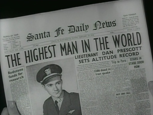 Awesome Headline From an Old Sci-Fi Movie
